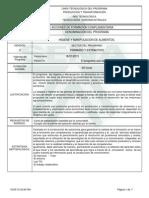 Estructura Curricular Bpm)