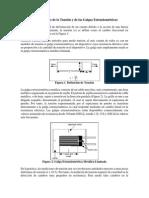 Generalidades de La Tensión y de Las Galgas Extensiométricas