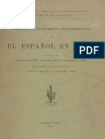 Espanol de Chile R. Lenz