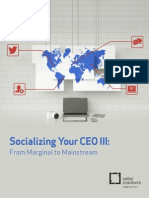 Socializing Your Ceo III Exec Summary