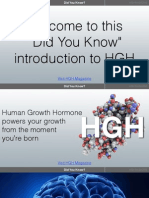 Human Growth Hormone HGH Intro