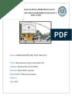 Comparación Del Dcn 2008-2015