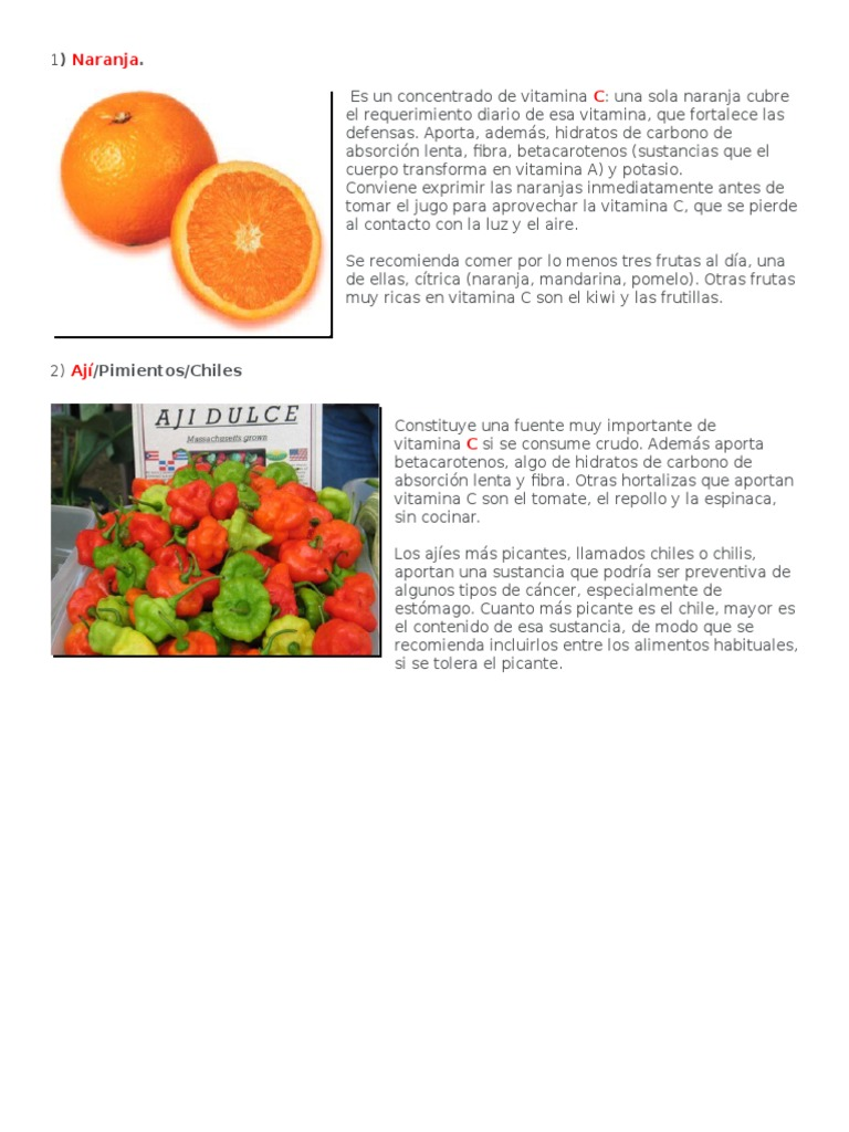 vitamina c vitamina c tomate y naranja y naranja