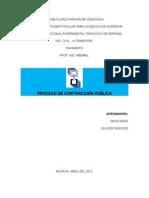 Resumen de Contrataciones publicas