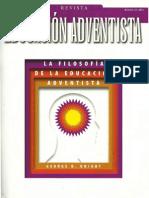 Revista Educación Adventista 33-Filosofía de La Educación Adventista