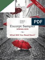 Penguin Random House Library Marketing Spring 2015 Sampler