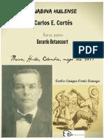 GUABINA HUILENSE. Carlos E. Cortés. Transc. piano Gerardo Betancourt