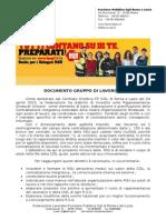 Documento Gruppo RSU