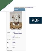 aristotales biografia