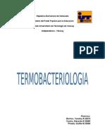 Termobacteriologia