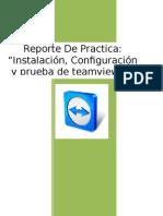 Reporte de Practica Teamviwer