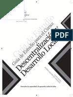 Guia Descentralizacion