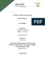 Aporte Individual Colaborativo fisica general 1