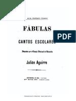 Julian Aguirre - Fábulas