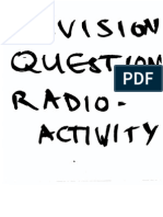 Revision Questions Radiation
