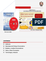 Capitulo 1_Naturaleza de la Econometría_Mayo del 2014.ppt