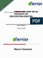 Snip y Descentralización