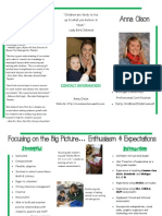 teacher brochure website