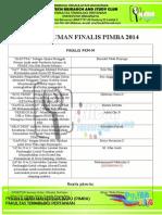 FINALIS PIMBA 2014