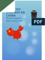 Derecho Agrario en China