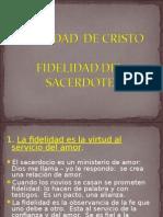 Fidelidad Hacia Cristo