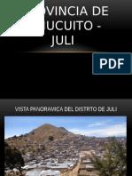 Juli Chucuito - Puno