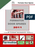 2011 Fermator Catalogue