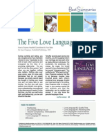 5 Love Languages Summary