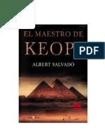 Albert Salvadó - El Maestro de Keops