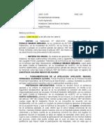 EXP N° 2007 - 197 RONALD MAMANI MIRANDA
