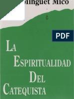 Minget Mico Jose - La Espiritualidad Del Catequista