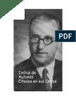 Indice de Autores y Personajes Citados por Vicente Amezaga en sus escritos