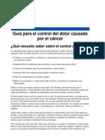 Guia Dolor Cancer