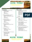 KUYA PONZ Menu List (Edited)