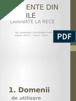 Elemente Din Profile Laminate La Rece - Luca Bogdan
