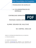 Unidad 4 La Contabilidad Administrativa