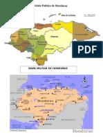 Mapas de Honduras 2015