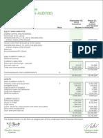4 Balance Sheet