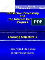 AISCH04 Transaction Processing and the Internal Control Process
