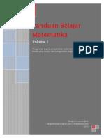 Belajar Matematika Volume 1
