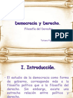 Democracia y Derecho
