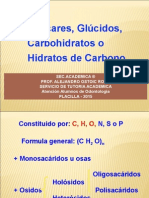 2015 - BIOQUIMICA CELULAR - HIDRATOS DE CARBONO, PPT - EVELYN.ppt