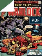Strange Tales 181 Warlock