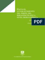 Bibliotecologo Perfil en Iberoamerica