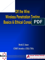 Off-The Wire Wireless Penetration Testing