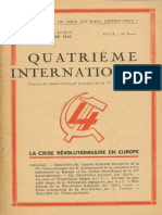 Quatrième Internationale I, Nº 14-15, 1945