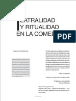 Teatralidad y Ritualidad en La Comedia