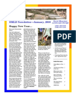 DMLD Newsletter—January, 2010 Happy New Year…