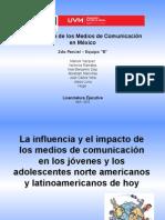 La Influencia y El Impacto de Los Medios