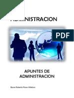 apuntes de administración